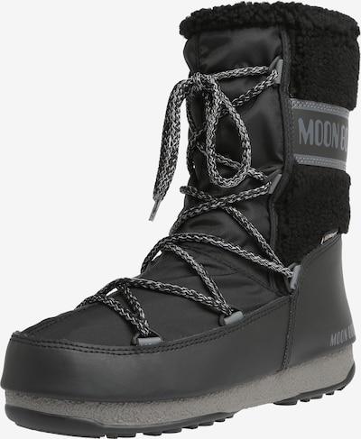MOON BOOT Snehule 'MOON BOOT MONACO WOOL' - sivá / čierna, Produkt
