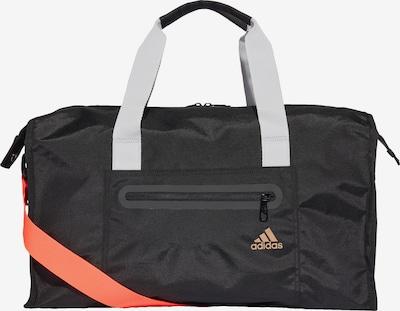 ADIDAS PERFORMANCE Sporttasche 'ID Duffelbag' in orange / schwarz, Produktansicht