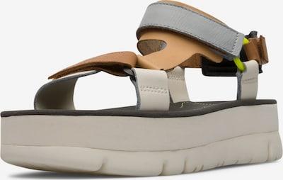 CAMPER Sandalen met riem ' Oruga Up ' in de kleur Beige, Productweergave