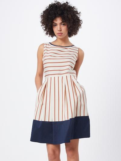 CINQUE Kleid 'CIESTRELLA' in beige / orangerot, Modelansicht