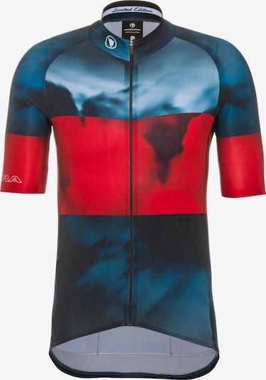 ENDURA Fahrradtrikot 'Trikot LTD' in blau / rot, Produktansicht