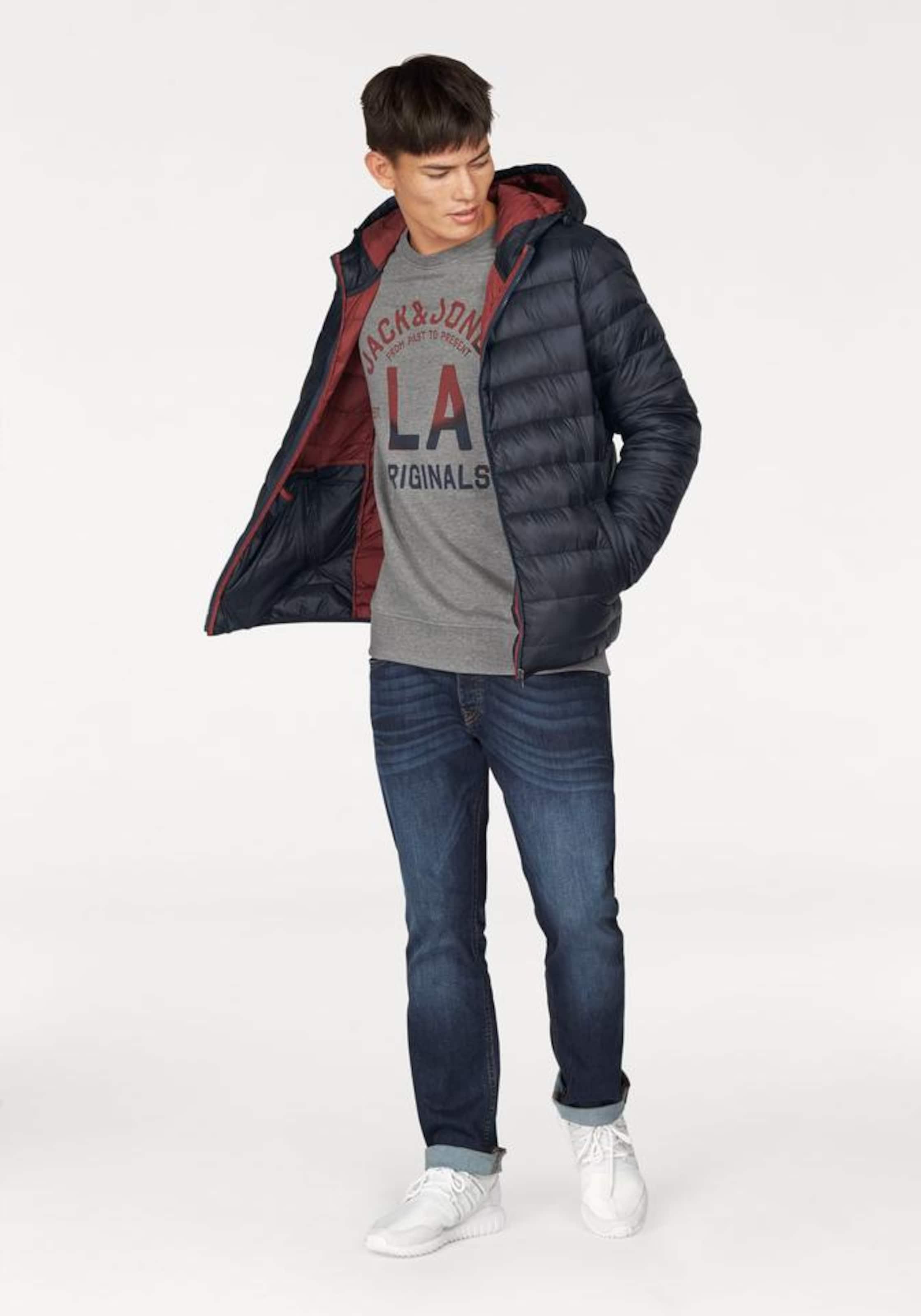 JACK & JONES Regular-fit-Jeans »Clark« Billig Bester Ort Großer Verkauf Zum Verkauf Billig Rabatt Authentisch Freies Verschiffen Browse roQVddmvl