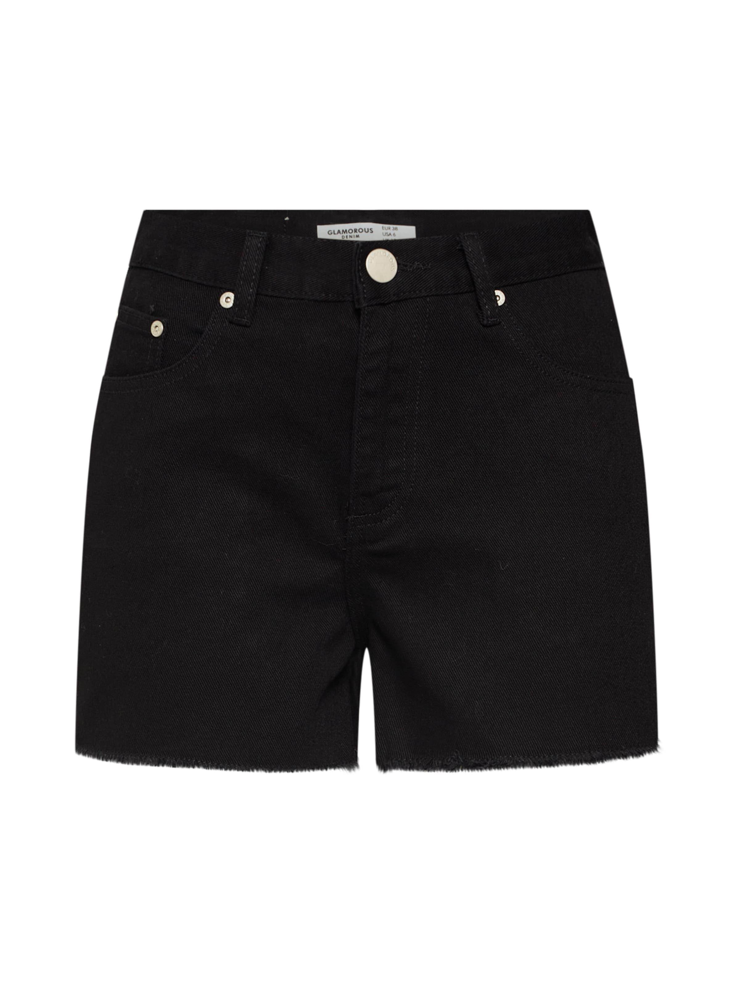 En Denim Pantalon 'ka6117' Noir Glamorous nPNkX8Ow0