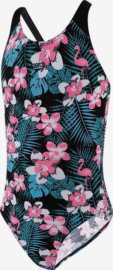 SPEEDO Badeanzug in mischfarben / schwarz, Produktansicht