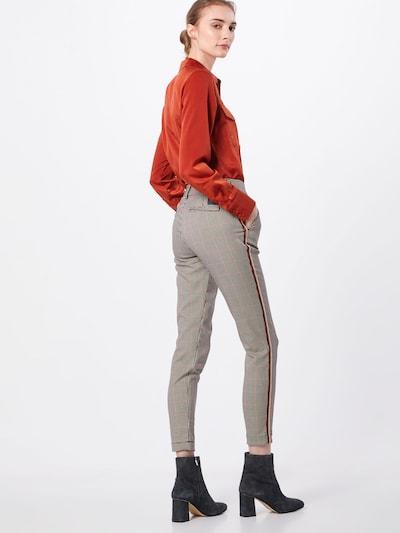 Chino stiliaus kelnės 'Lovely Poly Stripe Check' iš Herrlicher , spalva - smėlio: Vaizdas iš galinės pusės