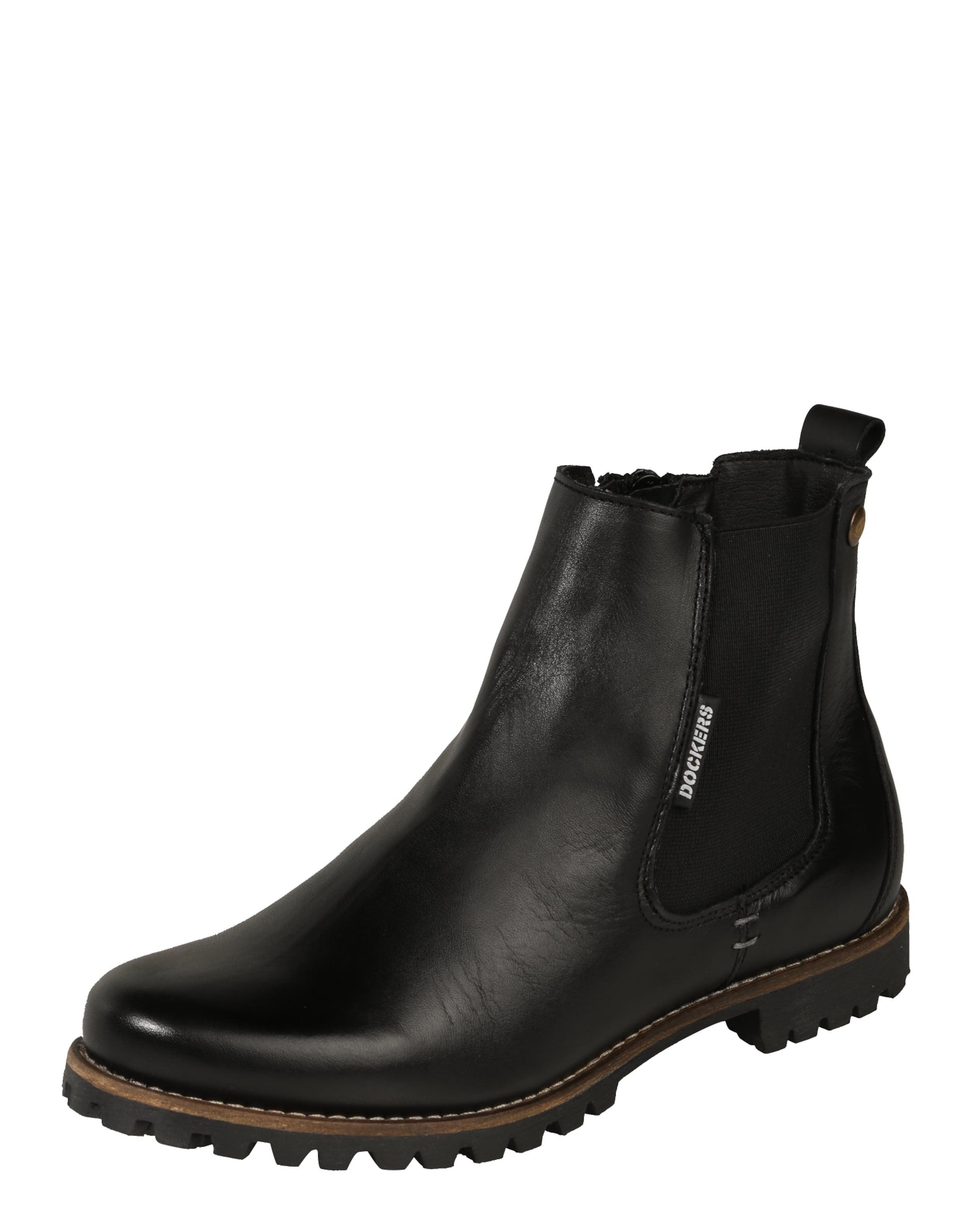 Dockers by Gerli | Chelsea-Boots aus Leder Schuhe Gut getragene Schuhe