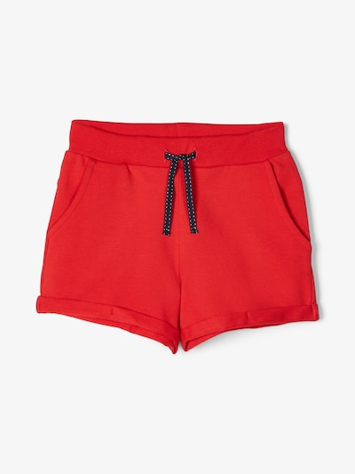 NAME IT Sweatshorts in rot, Produktansicht