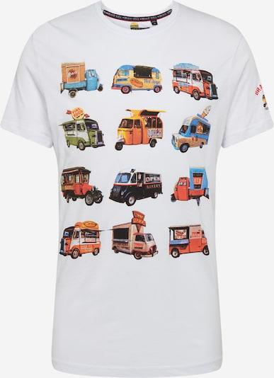 BRAVE SOUL Shirt in mischfarben / weiß, Produktansicht
