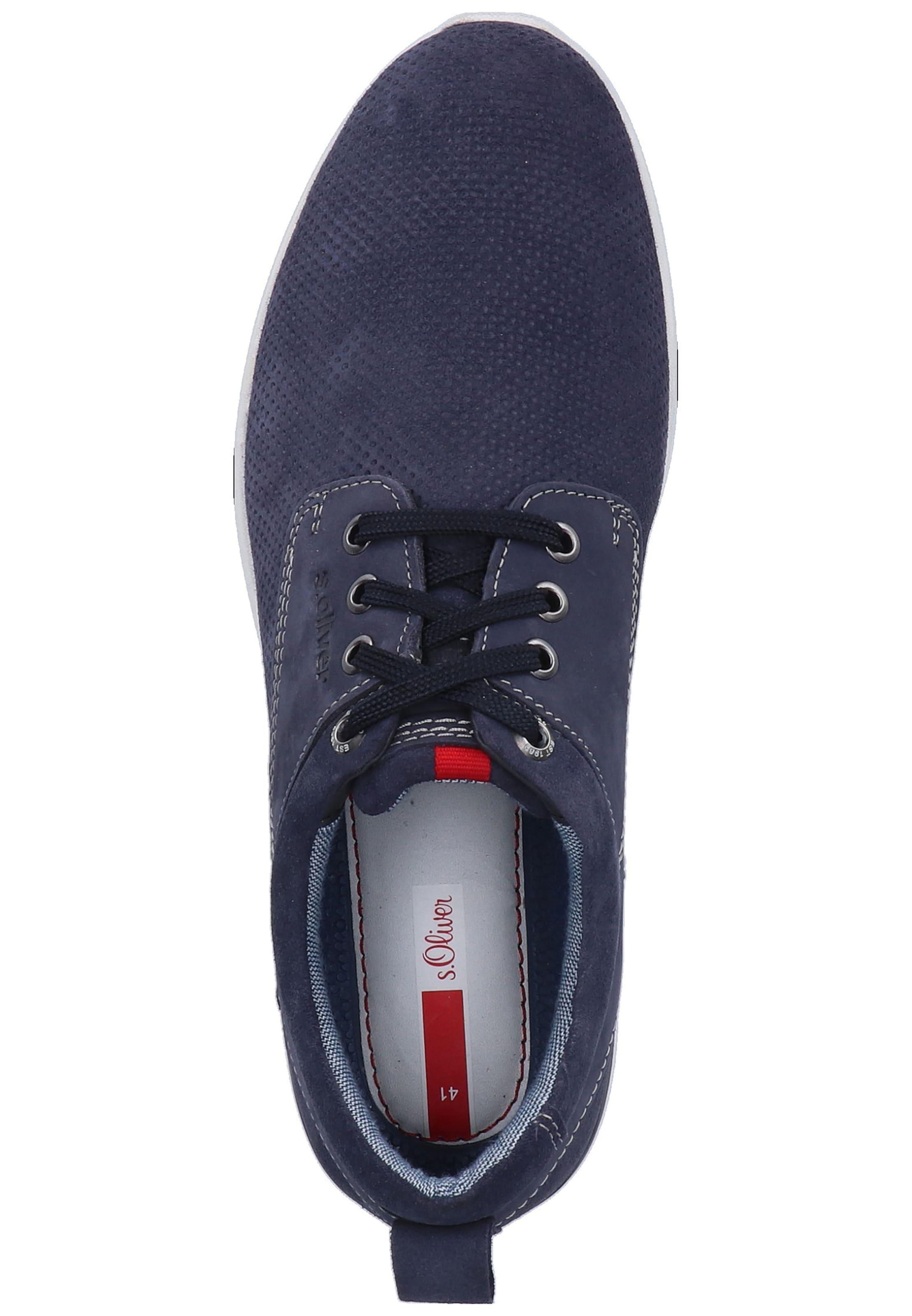 Label S NavyRot Red Sneaker In oliver Fc1JKl