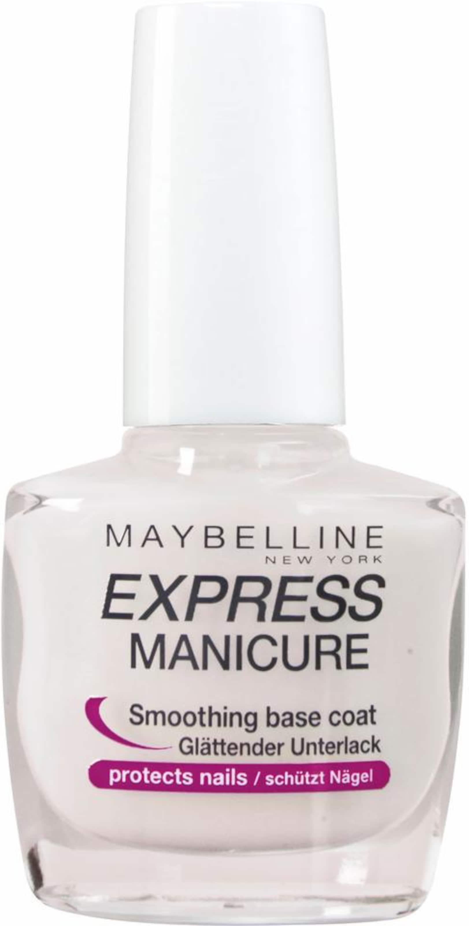 MAYBELLINE New York 'Express Manicure Unterlack', Nagelpflege