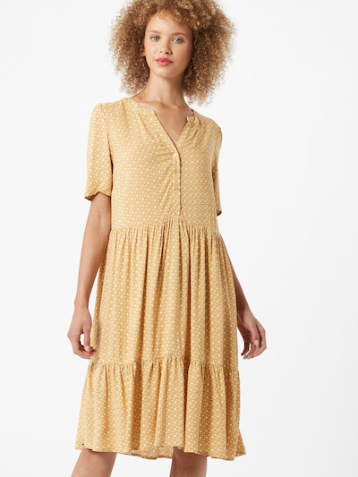 Soyaconcept Letní šaty 'Iggy 3' - žlutá / bílá, Model/ka