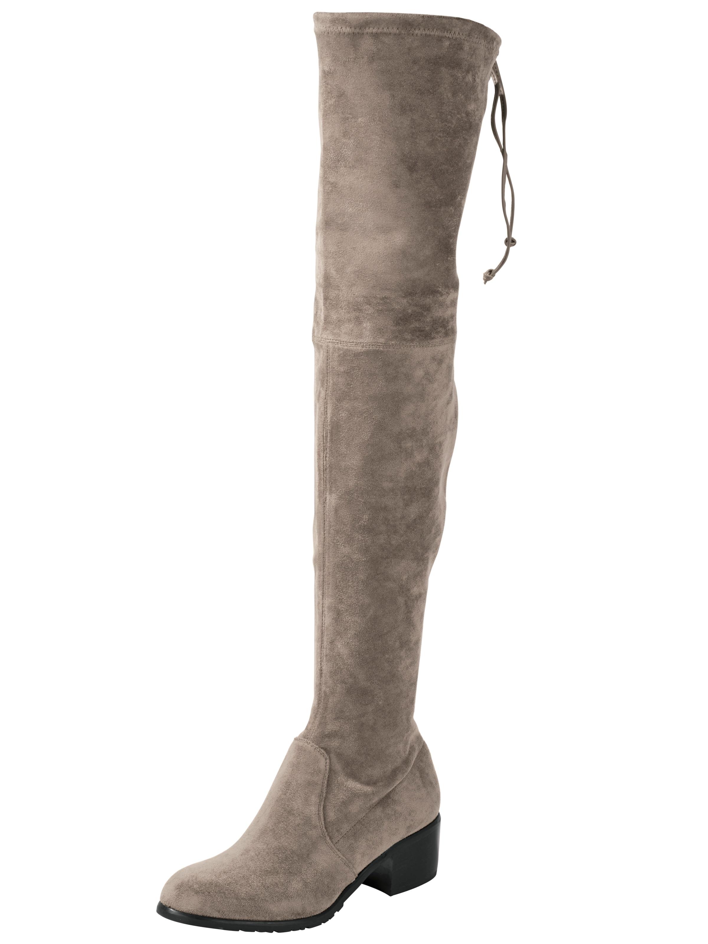 heine Overknee Verschleißfeste billige Schuhe Hohe Qualität