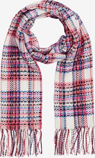 s.Oliver Schal in blau / pink / weiß, Produktansicht