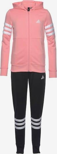 ADIDAS PERFORMANCE Trainingsanzug in rosa / schwarz / weiß, Produktansicht