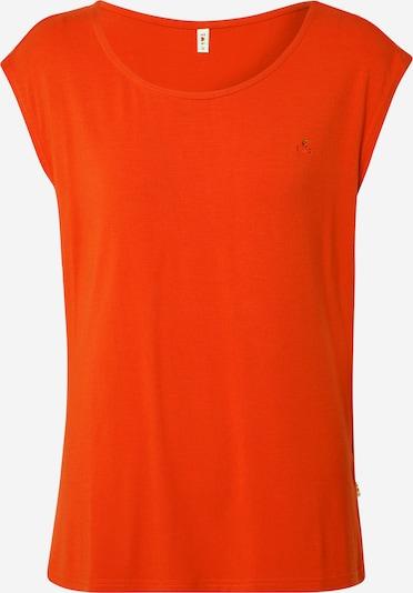 Blutsgeschwister T-shirt 'sailorlove' en rouge orangé, Vue avec produit