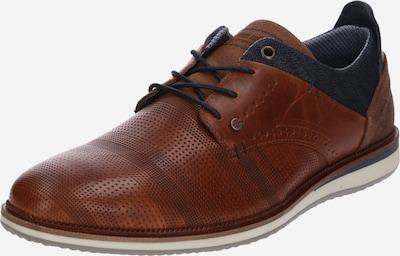 BULLBOXER Buty sznurowane w kolorze ciemny niebieski / brązowym, Podgląd produktu