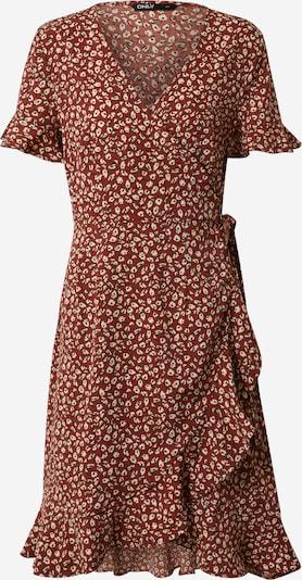 ONLY Kleid 'OLIVIA' in rot / weiß, Produktansicht