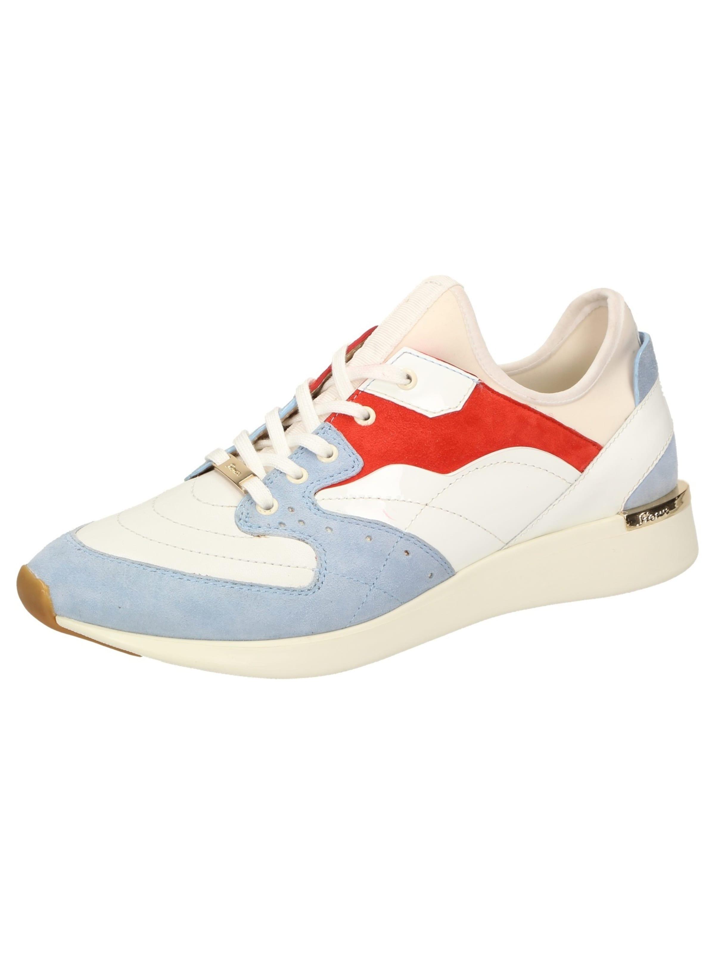 Sneaker Weiß Sioux HellblauHellrot 'malosika 702' In K31J5cFuTl