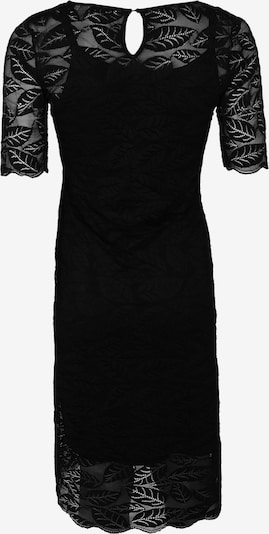 QUEEN MUM Kleid in schwarz: Rückansicht