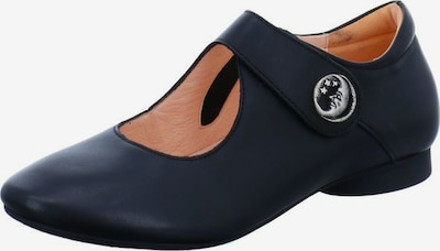 THINK! Ballet Flats with Strap in Black, Item view