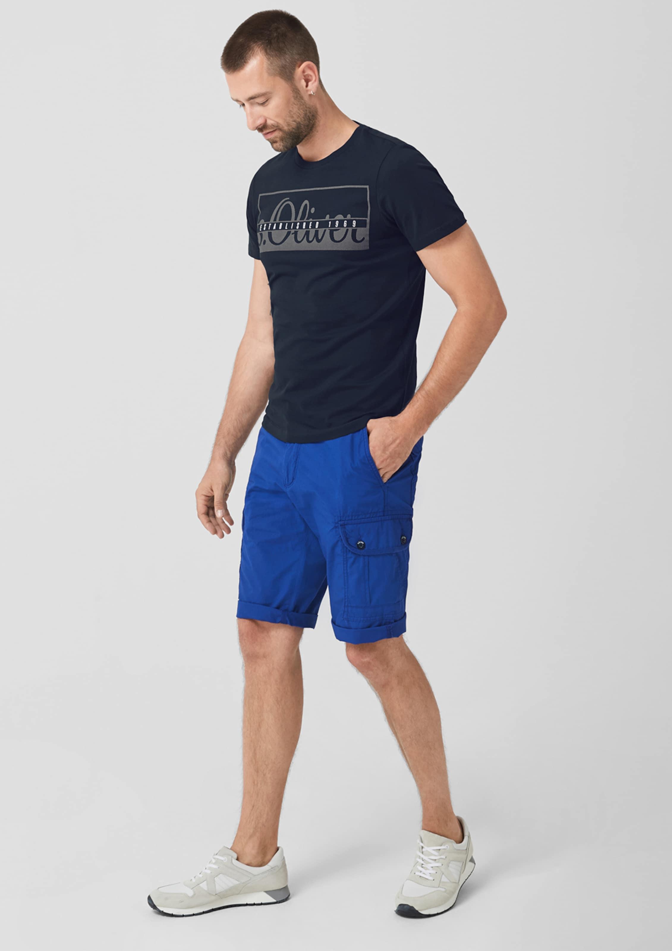 S In In Jerseyshirt oliver Dunkelblau Jerseyshirt oliver S DEHI9W2