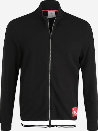 Calvin Klein Underwear Sweatjacke in schwarz / weiß, Produktansicht