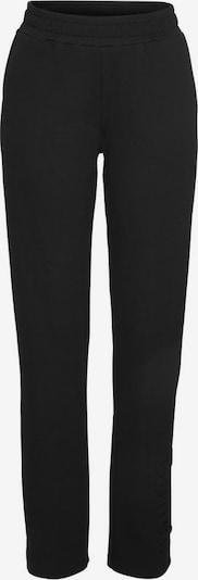 BENCH Pyjamahose in schwarz, Produktansicht