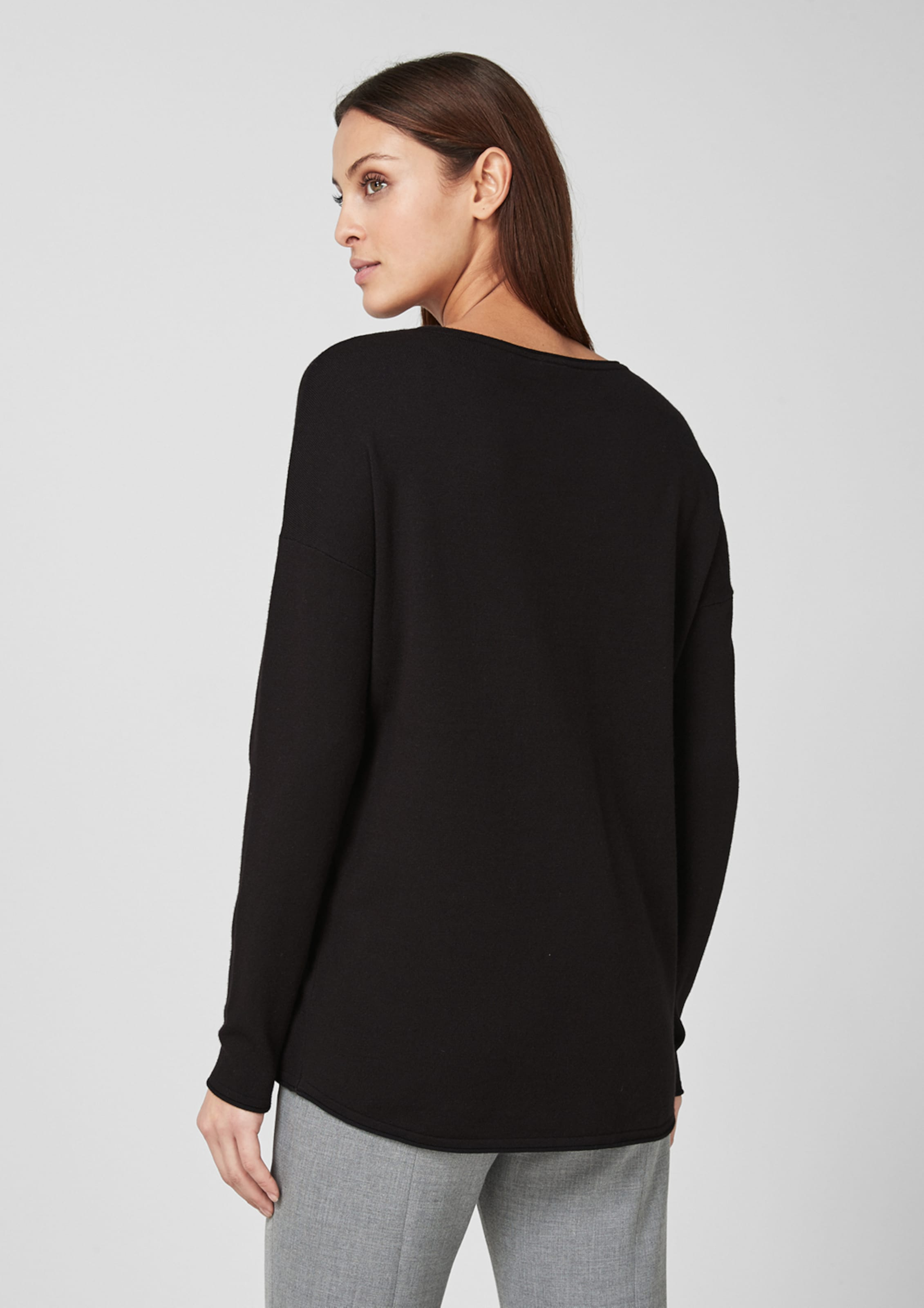 In S oliver Black Label Schwarz Pullover 34q5RLcjA