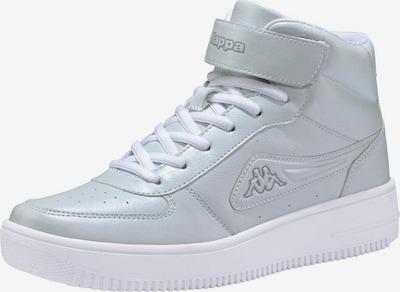 KAPPA Sneaker 'Bash Mid' in hellgrau / weiß, Produktansicht