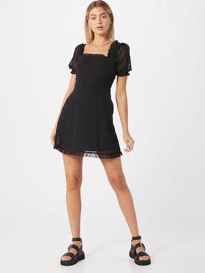Missguided Kleid 'Dobby' in schwarz, Modelansicht