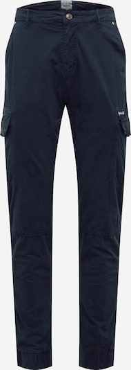 BLEND Pantalon cargo en bleu marine, Vue avec produit