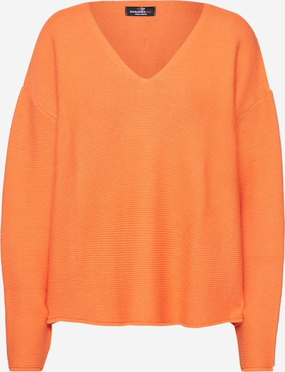 Zwillingsherz Pullover 'Klara' in orange, Produktansicht