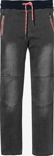 Boboli Jeans in grey denim / orange, Produktansicht