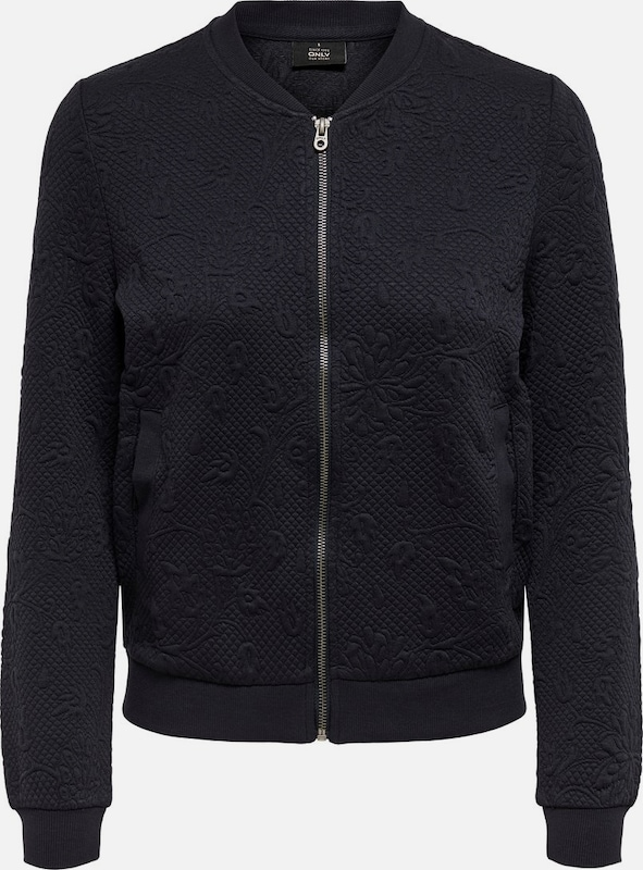ONLY Sweatjacke in navy, Produktansicht