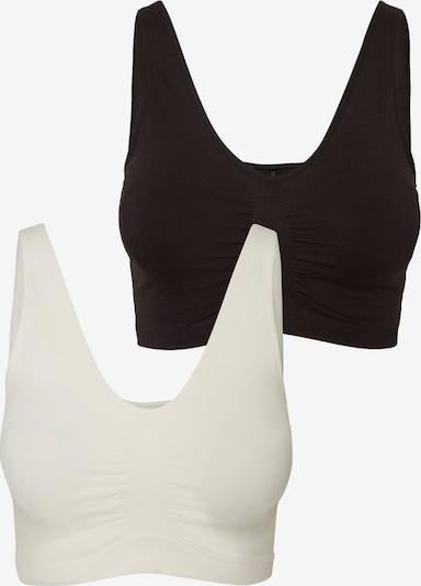 MAMALICIOUS Still-BH in schwarz / weiß, Produktansicht