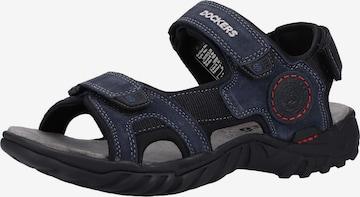 Sandales de randonnée Dockers by Gerli en bleu