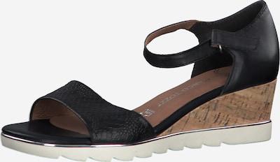 MARCO TOZZI Sandalen in schwarz, Produktansicht
