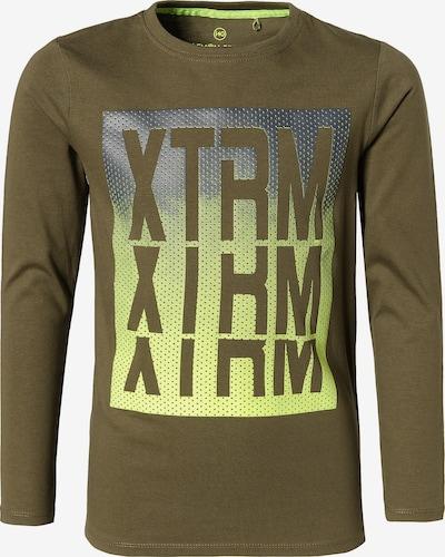 LEMON BERET Shirt in gelb / grün / silber, Produktansicht