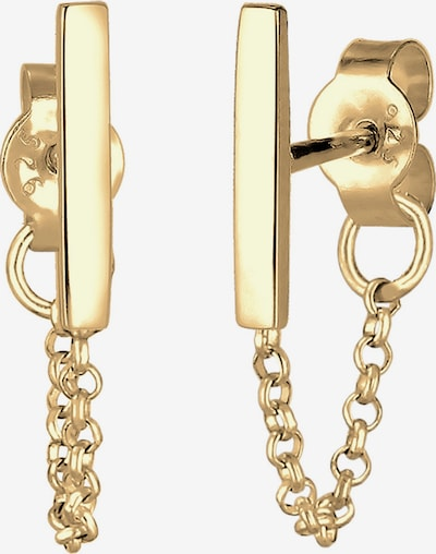 ELLI Ohrringe 'Geo, Kette' in gold, Produktansicht