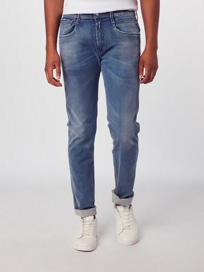 Jeans 'Anbass' REPLAY pe denim albastru, Vizualizare model