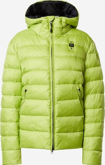 Blauer.USA Jacke in neongrün, Produktansicht