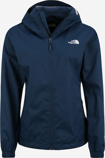 THE NORTH FACE Regenjacke 'Quest' in blau: Frontalansicht