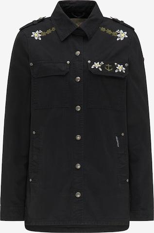 DREIMASTER Between-Season Jacket in Black