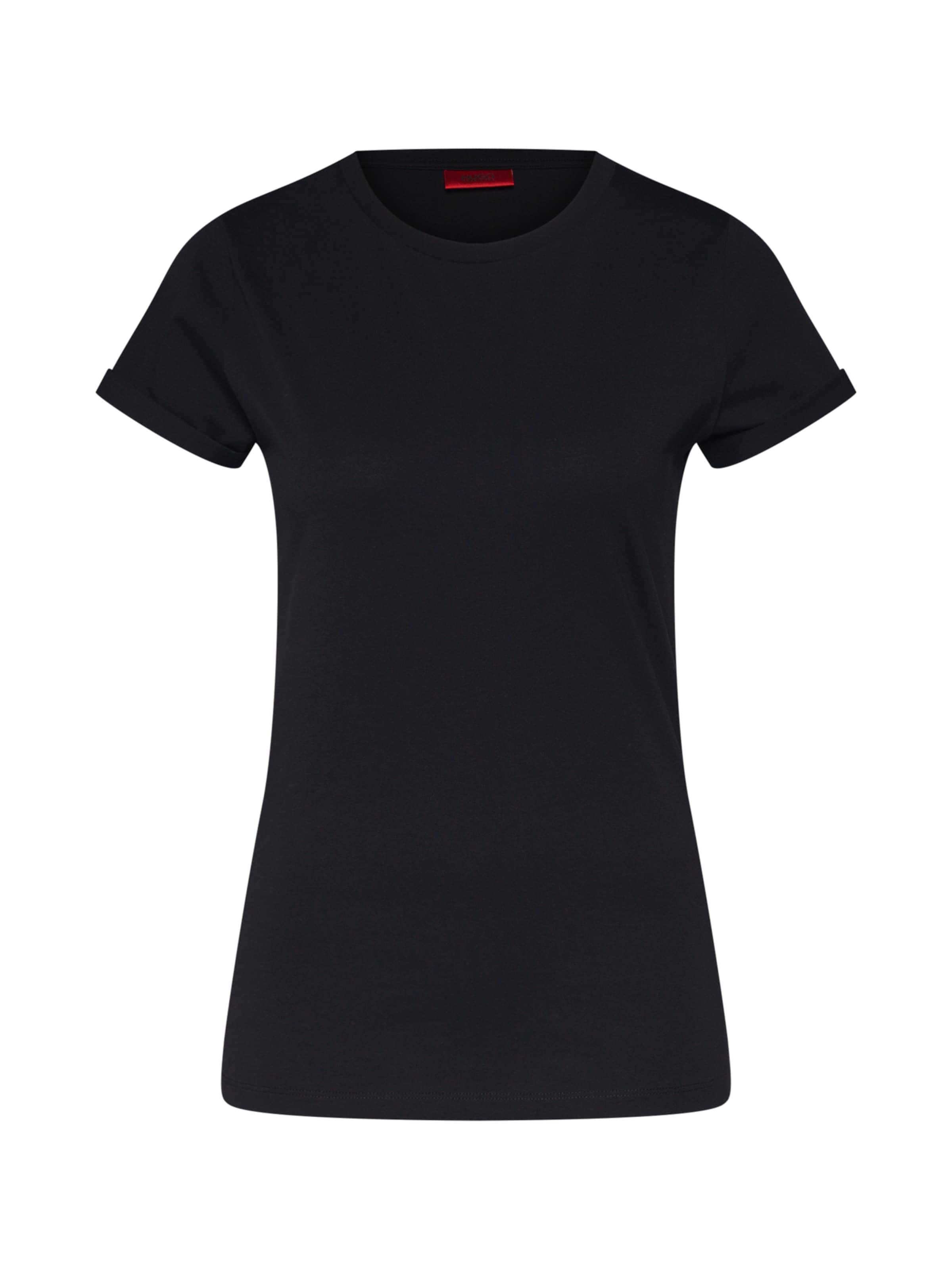 shirt En T 'the Noir Plain' Hugo Yv7gbyf6