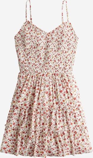 HOLLISTER Kleid in rosé / rot / weiß, Produktansicht