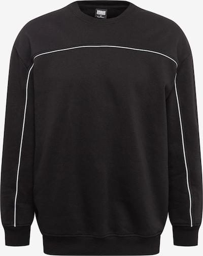 Urban Classics Sweatshirt 'Reflective Crew' in schwarz, Produktansicht