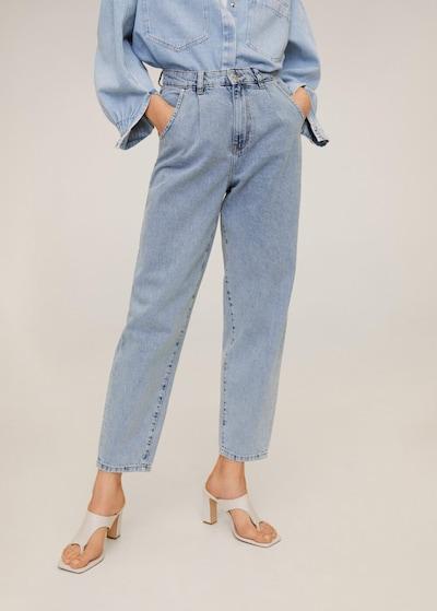 MANGO Jeans 'Regina' in himmelblau, Modelansicht