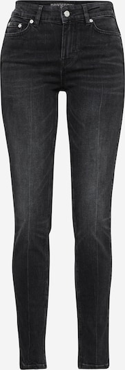 DRYKORN Jeans 'PULL' in black denim: Frontalansicht