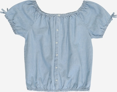 STACCATO Bluse in blue denim, Produktansicht