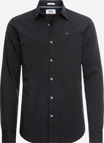 Tommy Jeans Hemd in Schwarz